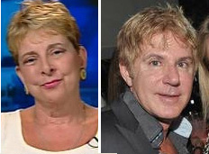 Diane Derzis, left, and Bruce Norman.