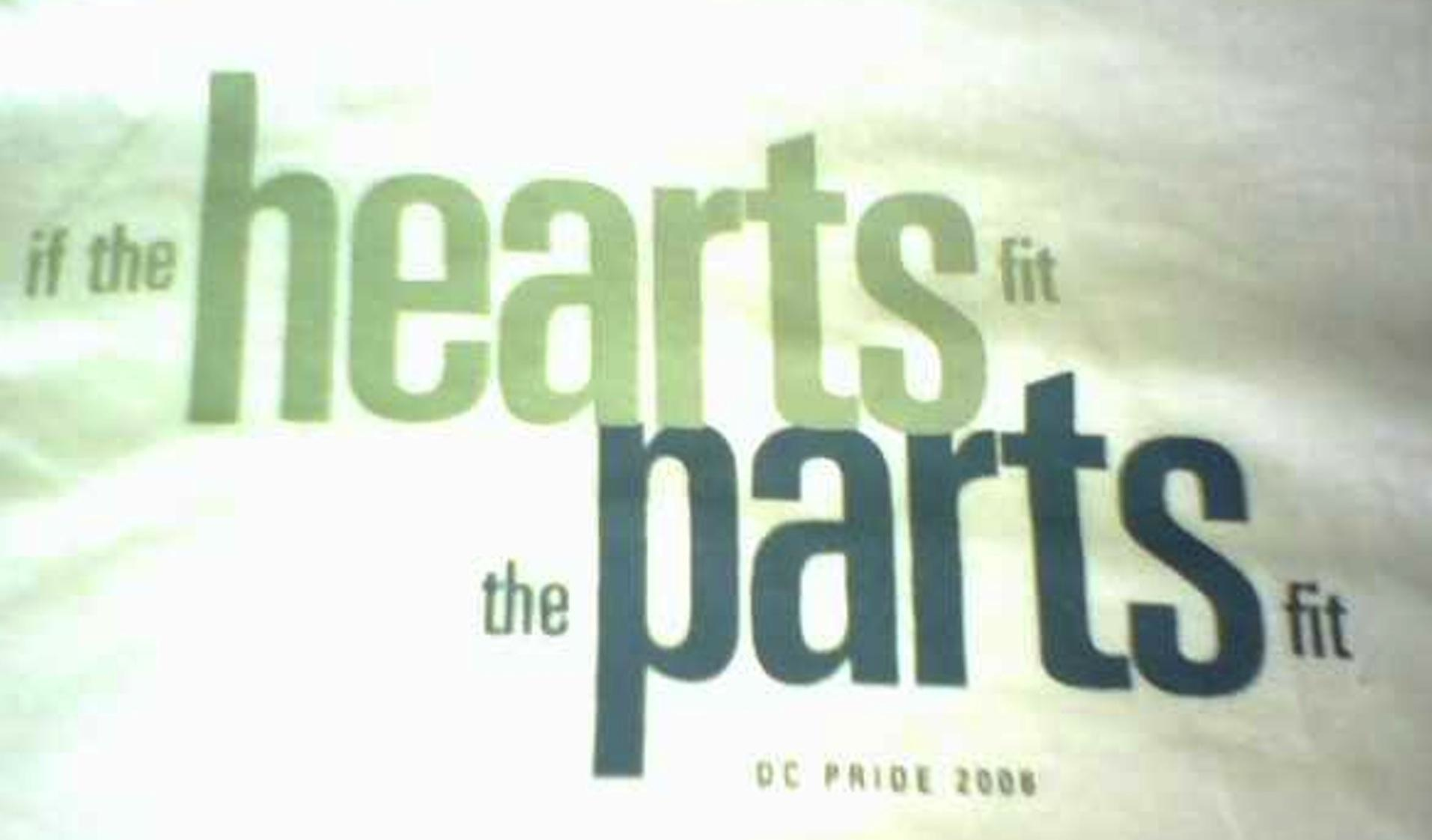 Heart fits  pants fit