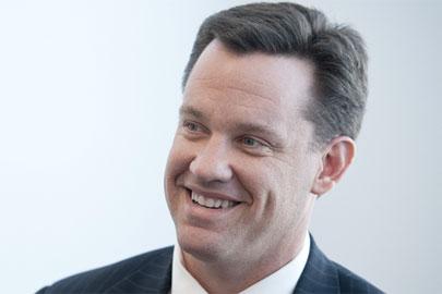 Nebraska Attorney General Jon Bruning, in a happier moment.