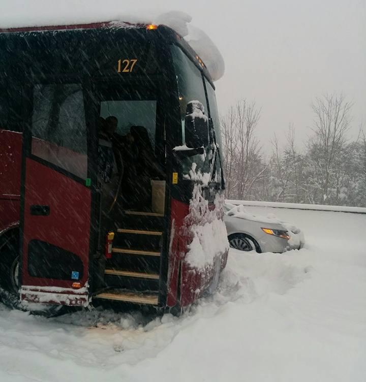 UPDATE: Busloads of pro-life marchers stranded on Penn Turnpike