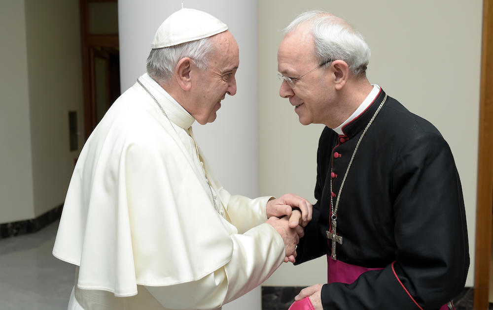 """EXCLUSIVE: Bishop Schneider wins clarification on """"diversity of religions"""" from Pope Francis, brands abuse summit a """"failure"""""""