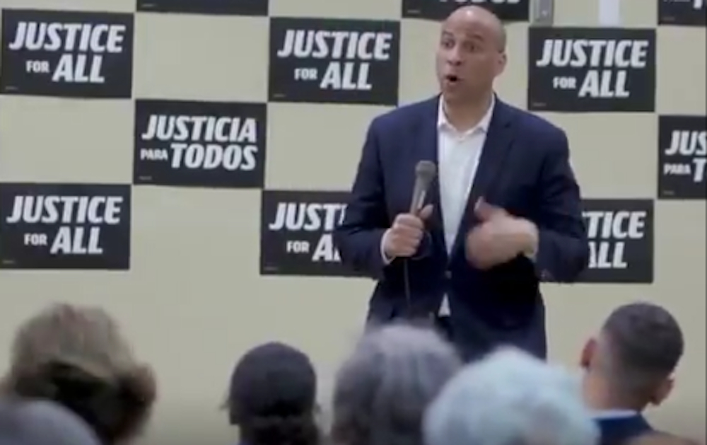 Cory Booker invents new LGBT term 'nie-phew' to avoid 'marginalizing' nieces, nephews