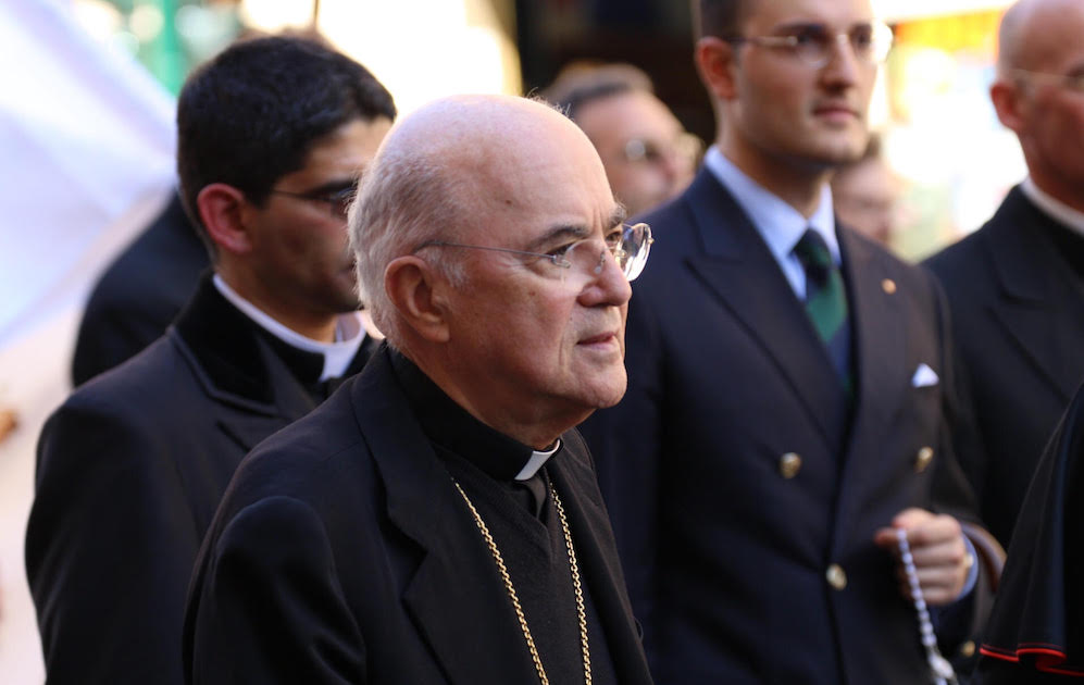 Viganò releases new 'testimony' responding to Pope's silence on McCarrick cover-up