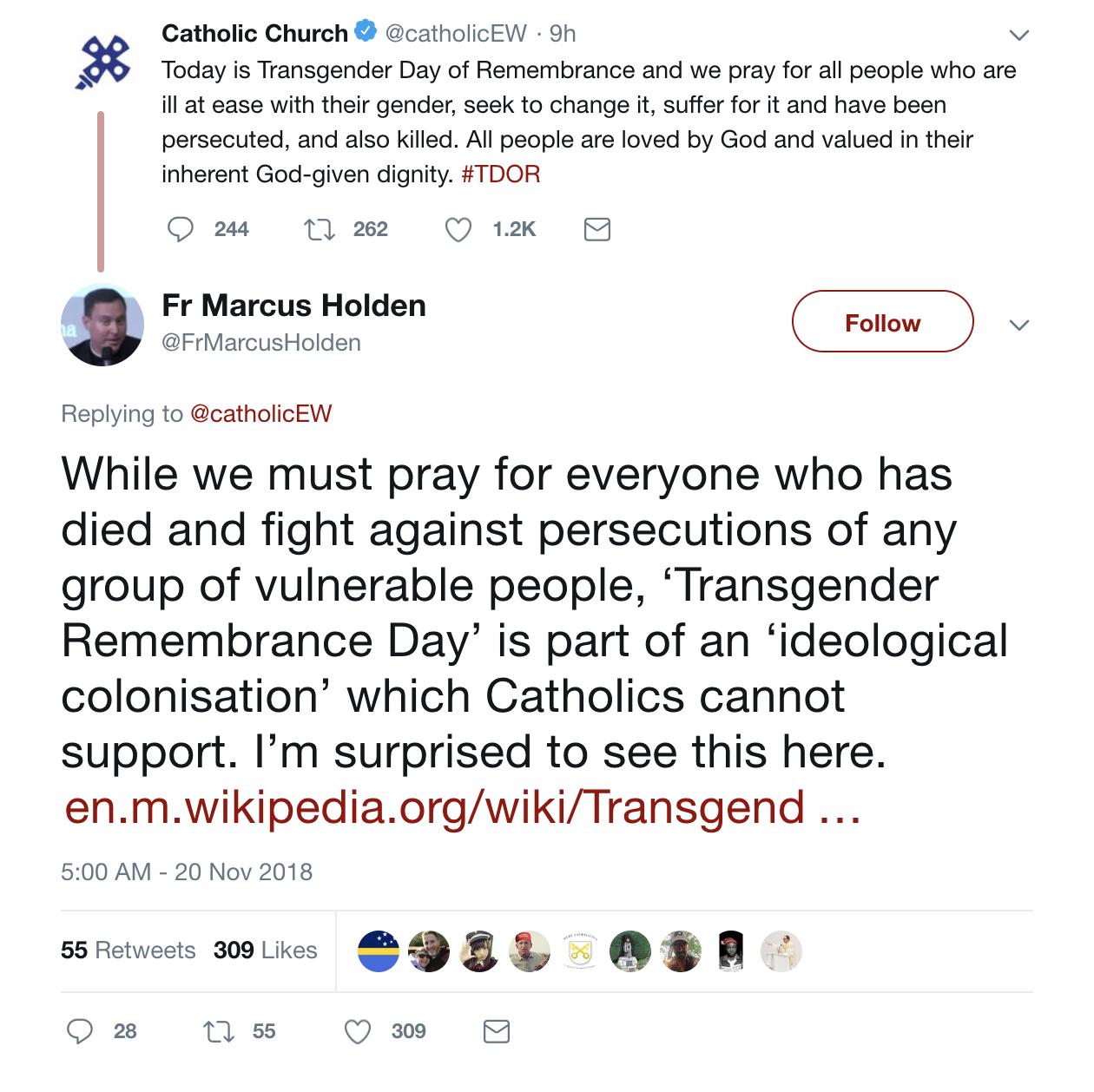British bishops under fire for recognizing pro-transgender 'day of remembrance'