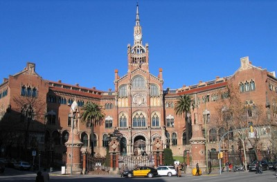 Sant Pau Hospital in Barcelona.