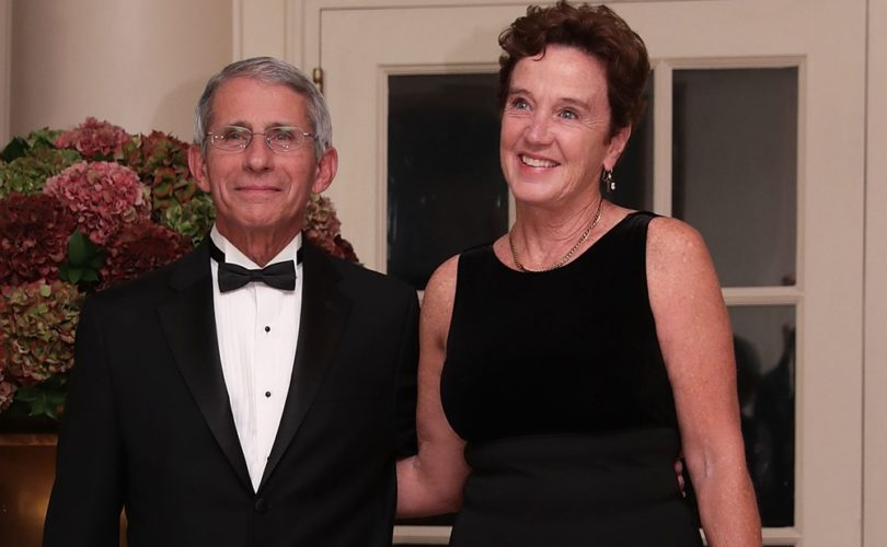 Conflict of interest? Fauci's wife runs bioethics department at NIH